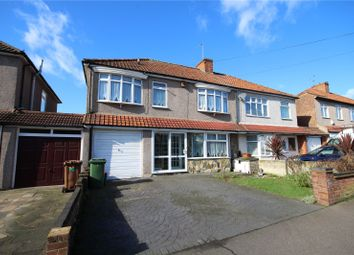 Thumbnail 5 bed semi-detached house for sale in Danson Crescent, South Welling, Kent