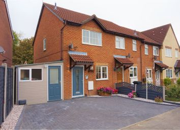 Thumbnail 2 bed end terrace house for sale in Pearce Close, Swindon