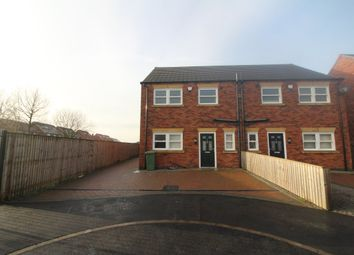 Thumbnail 3 bed terraced house to rent in Foxglove Close, Scunthorpe