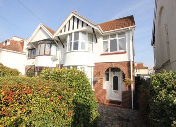 Thumbnail 3 bed semi-detached house for sale in Colin Road, Preston, Paignton
