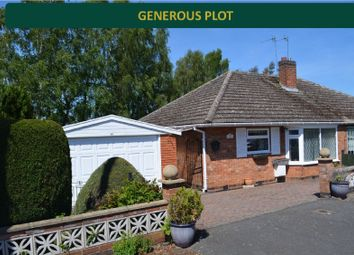 Thumbnail 2 bed bungalow for sale in Paddock Close, Oadby, Leicester