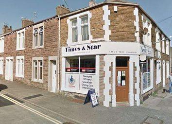 Thumbnail Retail premises for sale in Corporation Road, Workington