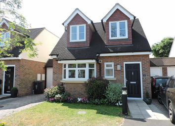 Thumbnail 3 bed link-detached house for sale in Winern Glebe, Byfleet, Surrey