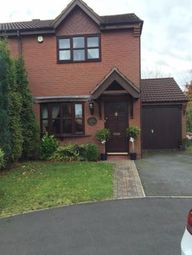 Thumbnail 2 bed semi-detached house to rent in Scholars Gate, Burntwood