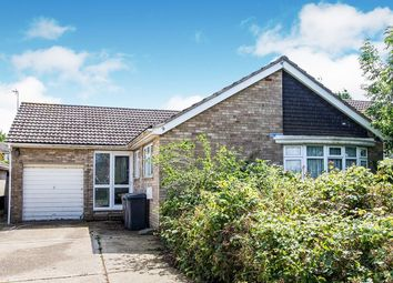 Thumbnail 3 bed bungalow for sale in Keeble Drive, Washingborough, Lincoln