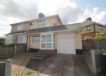 Thumbnail 2 bed semi-detached house for sale in Moor Street, Wednesbury