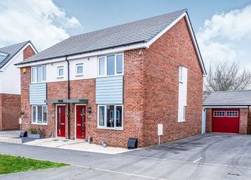 Thumbnail 3 bed semi-detached house for sale in John Cooper Way, Coalville