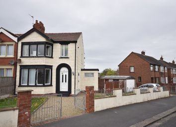 Thumbnail 3 bed semi-detached house to rent in Bangor Avenue, Bispham, Blackpool, Lancashire