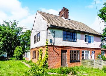 Thumbnail 2 bed semi-detached house for sale in 42 Aylsham Road, Tuttington, Norwich
