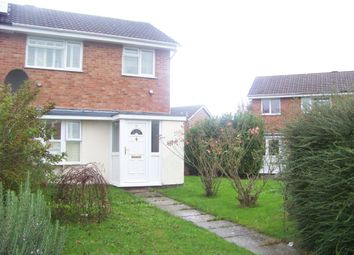 Thumbnail 2 bed property to rent in Hogarth Walk, Worle, Weston-Super-Mare
