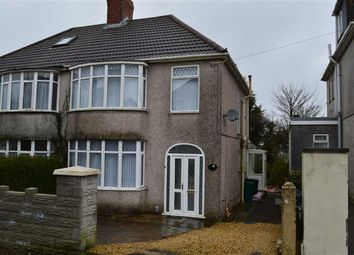 Thumbnail 3 bed semi-detached house for sale in Lon Cothi, Swansea