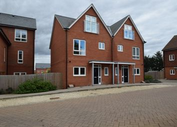 Thumbnail 4 bedroom semi-detached house to rent in Newlands Way, Cholsey, Wallingford