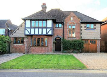 Thumbnail 4 bed detached house for sale in Saxonwood Road, Battle, East Sussex