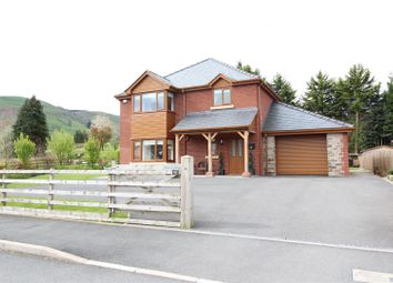 Thumbnail 5 bed detached house for sale in Troed Y Cyrniau, Penybontfawr, Oswestry