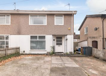 Thumbnail 3 bed semi-detached house for sale in Langton Road, Harrow