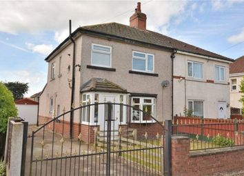 Thumbnail 3 bed semi-detached house to rent in Kirkfield Avenue, Thorner, Leeds