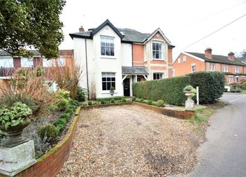 Thumbnail 4 bed semi-detached house for sale in Vicarage Road, Bagshot, Surrey