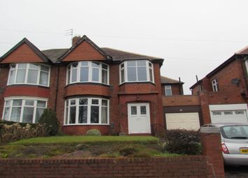 Thumbnail 4 bed semi-detached house for sale in Great North Road, Brunton Park, Newcastle Upon Tyne