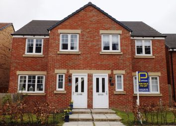 Thumbnail 3 bed end terrace house to rent in Loansdean Wood, Morpeth