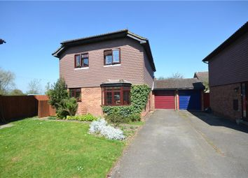Thumbnail 4 bed detached house for sale in Clover Lane, Yateley, Hampshire