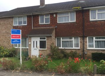 Thumbnail 3 bed terraced house to rent in Holgate Drive, Luton, Beds