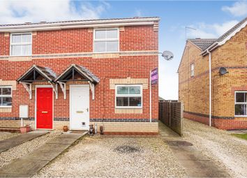 Thumbnail 2 bed semi-detached house for sale in Ripon Close, Bracebridge Heath