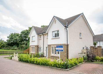 Thumbnail 3 bed semi-detached house for sale in Crown Crescent, Kinnaird, Larbert