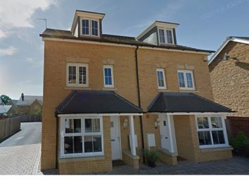 Thumbnail 4 bed semi-detached house to rent in Gomez Close, Oxley Park, Milton Keynes