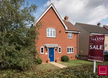 Thumbnail 3 bed detached house for sale in Peacock Close, Easton, Norwich