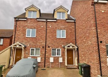 Thumbnail 4 bed terraced house for sale in Oliver Mews, Great Yarmouth