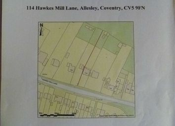 Thumbnail Land for sale in Hawkesmill Lane, Allesley, Coventry, West Midlands