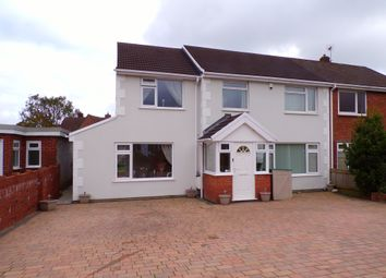 4 bed semi-detached house for sale in Gwerneinon Road, Derwen Fawr, Sketty, Swansea SA2