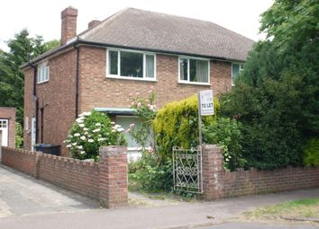 Thumbnail 4 bed semi-detached house to rent in Metcalfe Road, West Chesterton, Cambridge