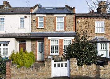 Thumbnail 3 bed terraced house for sale in Clifton Road, Teddington