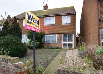 Thumbnail 3 bed semi-detached house for sale in St. Peters Road, Margate, Kent