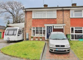 Thumbnail 3 bedroom end terrace house for sale in St. Giles Close, Farnborough, Orpington