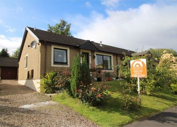Thumbnail 2 bed semi-detached bungalow for sale in Stell Park Road, Birnam, Dunkeld, Perthshire