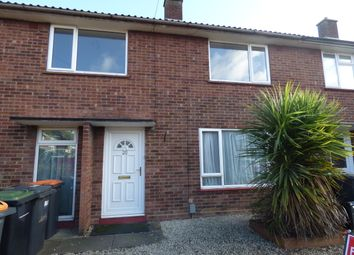 Thumbnail 2 bed terraced house for sale in Dale Close, Putnoe, Bedford
