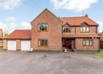 Thumbnail 4 bed detached house for sale in Church Lane, Carnaby, Bridlington, East Riding Of Yorkshire