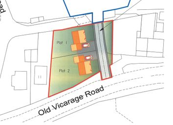 Thumbnail Land for sale in Old Vicarage Road, Dawley, Telford