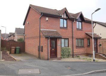 Thumbnail 2 bed semi-detached house for sale in West Park Drive, Plympton, Plymouth