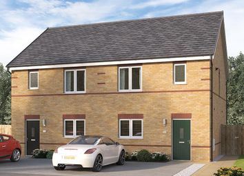 "Thumbnail 3 bed semi-detached house for sale in ""The Merebridge"" at Blackmoorfoot Road, Huddersfield"