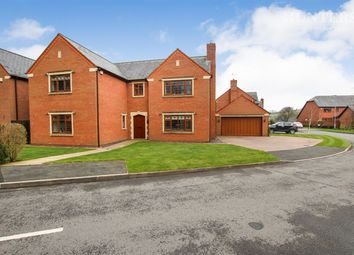 Thumbnail 5 bed detached house for sale in Chestnut Walk, Cheddleton