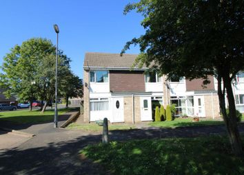 Thumbnail 3 bed end terrace house for sale in Chichester Close, Kingston Park, Newcastle Upon Tyne