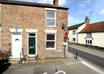 Thumbnail 2 bed end terrace house for sale in Church Lane, Langtoft, Driffield