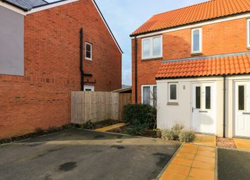 Thumbnail 2 bed semi-detached house for sale in Yarlington Mill, Cranbrook, Exeter