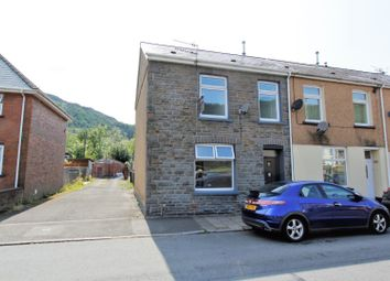 Thumbnail 4 bed end terrace house for sale in Bute Street, Treorchy