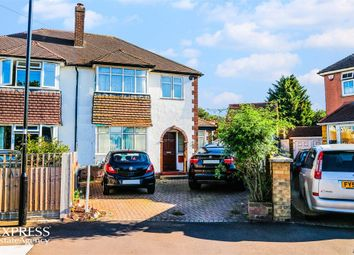 Thumbnail 3 bed semi-detached house for sale in Benedict Drive, Feltham, Greater London