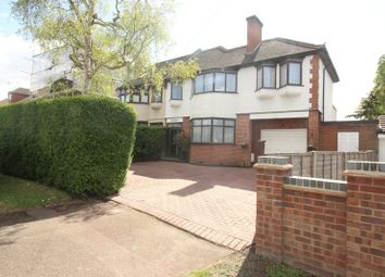 Thumbnail 5 bedroom semi-detached house for sale in Furzehill Road, Borehamwood