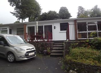 Thumbnail 2 bed bungalow for sale in Glan Gwna Holiday Park, Caeathro, Caernarfon
